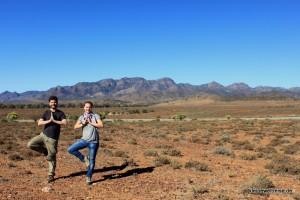 Meditation im Outback