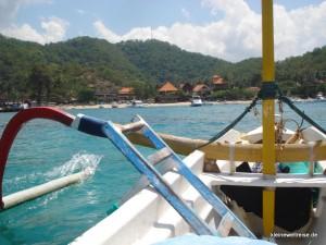 auf dem Baliboot