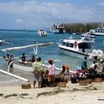 Der Strand von PadangBai