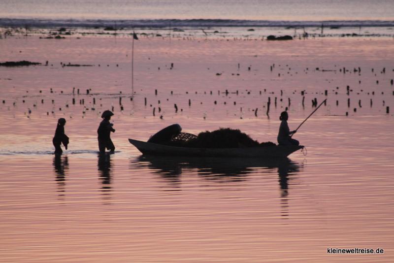 Sonnenuntergang auf Lembongan