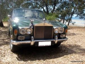Fanta auf dem Rolls Royce