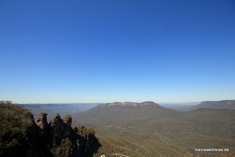 three sisters und Blue Mountains