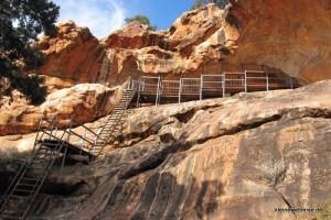 der Weg zur Höhle