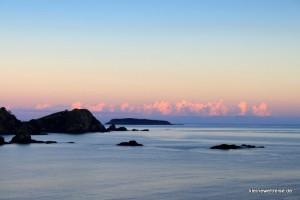 Sonnenaufgangan der Matauri Bay