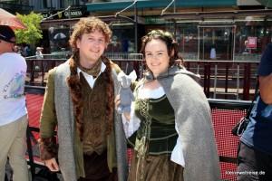 Fanta mit Hobbit Fans