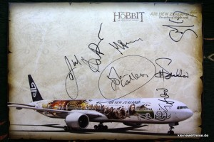 unsere Ausbeute: Die Autogramme!