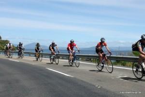 Radrennen um den See
