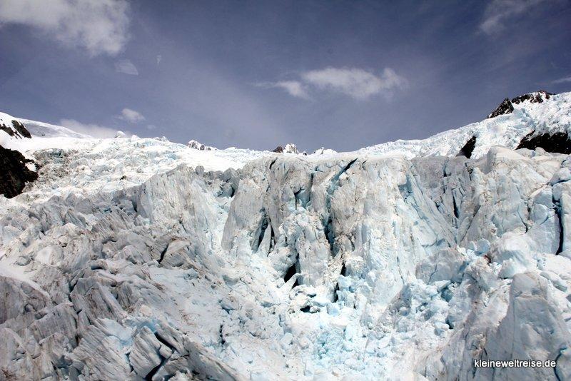 Rundflug über den Gletscher