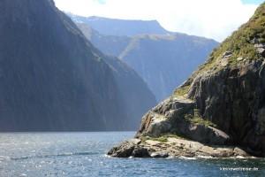 Durch den Fjord