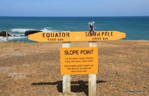 Slope Point - nicht mehr weit zur Antarktis