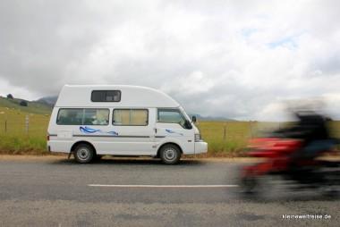on the road Neuseeland