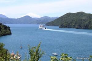 Interislander Fähre im Queen Charlote Sound