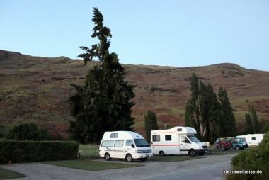Camper im Holiday Park