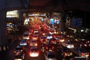 Stau ist oft in Bangkok