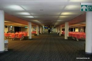 der leere Don Muang Flughafen