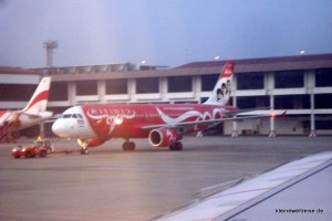 push back im Morgengrauen (Air Asia)