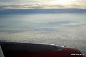 über den Wolken in Thailand