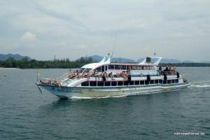 Ein Boot nach Lanta