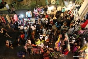 Nachtmarkt von oben