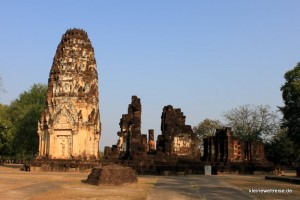Ruine in old Sukhothai
