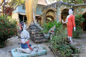 Buddha bekehrt Angulimala