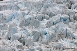 Eis auf dem Franz Josef Gletscher