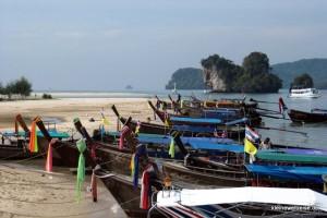 Am Hafen bei Krabi
