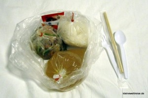 Essen in Tüten