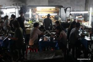 Essen am Straßenrand
