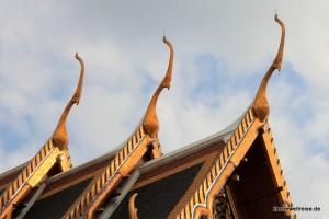 Giebel am Tempeldach