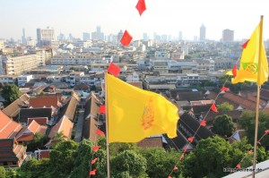 Aussicht über Bangkok