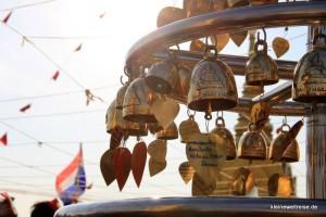 Glocken oben auf dem Golden Mountain