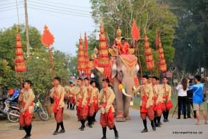 Elefanten auf der Parade