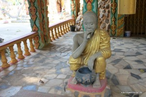 Phra Sumroeng, der Erschaffer des Figurengartens