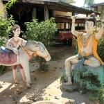 Die buddhistische Hölle: Im Figurengarten des Mönchs
