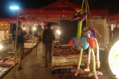 auf dem Nachtmarkt
