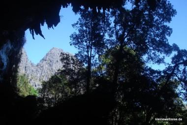 Ausgang aus der Kong Lor Cave