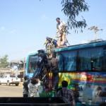 Mit dem Bus durch Laos: was alles so passieren kann