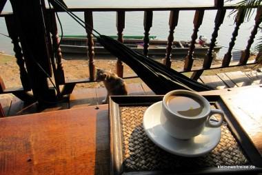Kaffee, Mekong, Hängematte