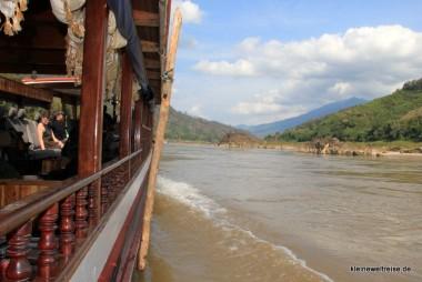 cruizen auf dem Mekong