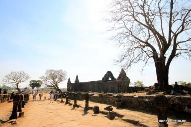 Einer der Paläste in der Tempelanlage