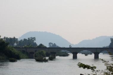Brücke von Don Det nach Don Khon