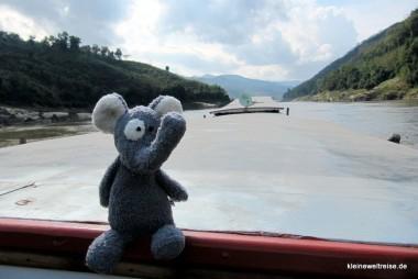 Fanta auf dem Mekong