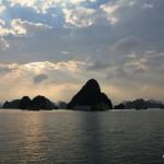 Als Mitläufer in der Halong Bucht