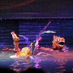Wasserpuppentheater gibt's nur in Vietnam