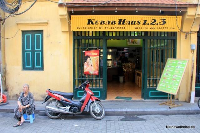 Döner Kebab in Hanoi