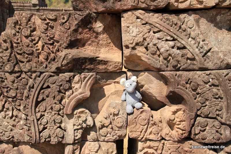 Fanta am Wat Phou