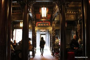 Inneres eines chinesischen Händler-Hauses