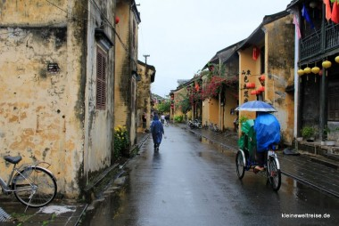 Regen in Hoi an!