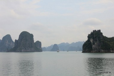 Cruizen in der Halong Bucht